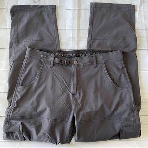 PrAna Zion Stretch Convertible Pants - Size 35/32